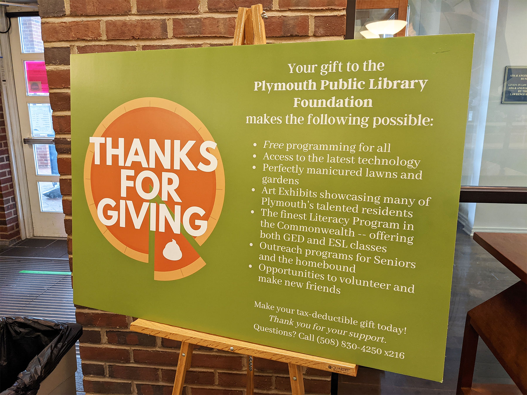 Donate for the Library