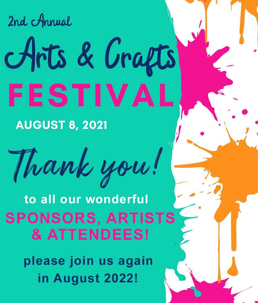 Arts + Crafts Thanks